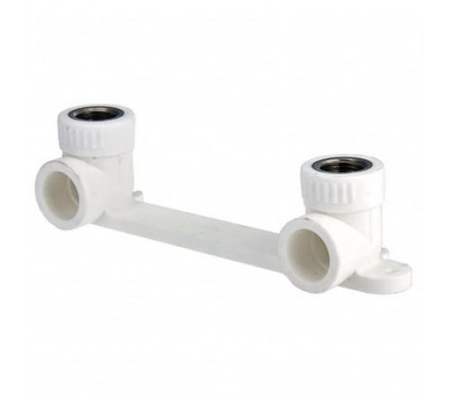 Настенный комплект для смесителя FORA (белый цвет)