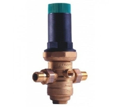 Редукционные клапаны D06FN со сбалансированным седлом и фильтром (для горячей воды)